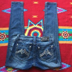Miss Me M Series JE1208CK Cuffed Skinny Jeans 26